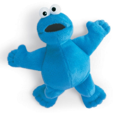 Magnatudes Cookie Monster - 8.5&quot; Sesame Street by Gund