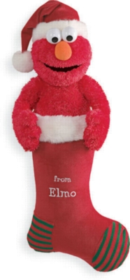 Elmo Musical Stocking - 26'' Sesame Street by Gund