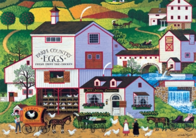 Large Format Jigsaw Puzzles - Virginia's Nest