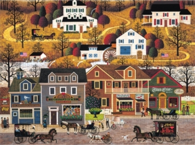 Hawkriver Hollow - 1000pc Jigsaw Puzzle By Buffalo Games
