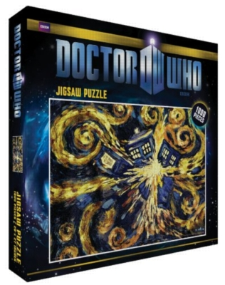 Doctor Who, Exploding Tardis - 1000pc Jigsaw Puzzle by Culturenik