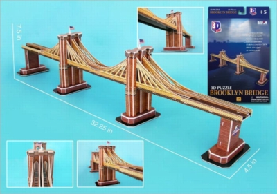 3D Puzzles - Brooklyn Bridge