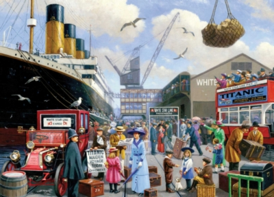 Titanic 100th Anniversary: Titanic Voyage - 1000pc Jigsaw Puzzle by Masterpieces