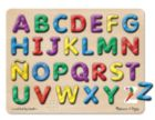 Spanish Alphabet - 27pc Interactive Sound Puzzle By Melissa & Doug
