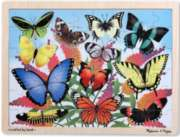Butterfly Garden - 48pc Jigsaw Puzzle By Melissa & Doug