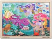 Melissa and Doug Jigsaw Puzzles for Kids - Mermaid Fantasea