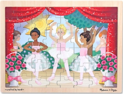 Melissa and Doug Jigsaw Puzzles for Kids - Ballet Performance