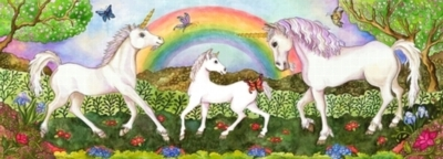 Melissa and Doug Floor Puzzles - Unicorn Glade
