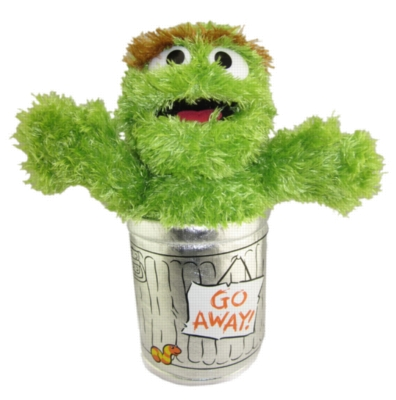 Oscar the Grouch - 10'' Sesame Street by Gund