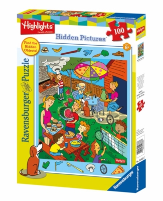 Highlights� - Backyard Barbecue - 100pc Jigsaw Puzzle By Ravensburger