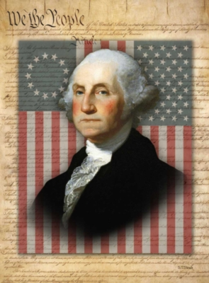 George Washington - 300pc Jigsaw Puzzle By Ravensburger