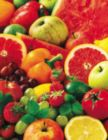 Colorful Fruit - 36pc Large Format Jigsaw Puzzle by Springbok