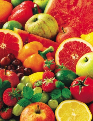 Springbok Large Format Jigsaw Puzzles - Colorful Fruit