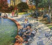 A Day in the Park - 300pc Large Format Jigsaw Puzzle By Sunsout