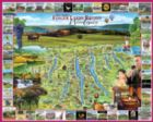Finger Lakes Region, NY - 1000pc Jigsaw Puzzle By White Mountain