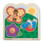 Garden - Jumbo Knob Puzzle By Melissa & Doug
