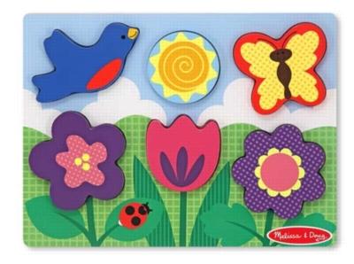 Children's Puzzles - Flower Garden