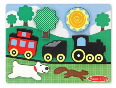 Children's Puzzles - Red Caboose