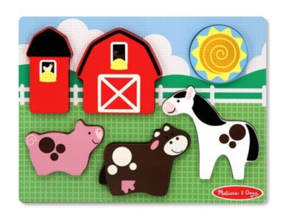 Children's Puzzles - Barnyard Fun