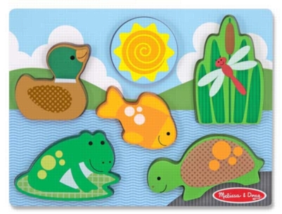 Children's Puzzles - Pond Play