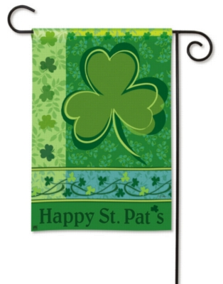 Happy St. Pat's - Garden Flag by Magnet Works