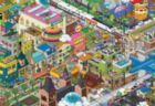 A Day in the City - 1000pc Jigsaw Puzzle By Educa