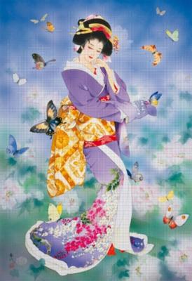 Haruyo Morita: Chou No Mai - 1500pc Jigsaw Puzzle By Educa