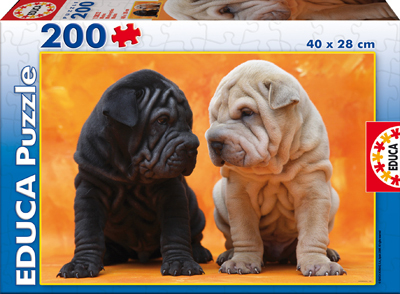 Educa Jigsaw Puzzles - Puppies