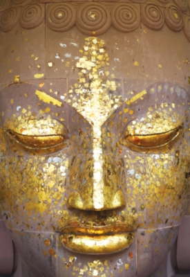 Buddha Golden Face - 500pc Jigsaw Puzzle By Educa