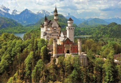 Neuschwanstein - 1500pc Jigsaw Puzzle By Educa