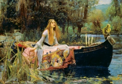 Lady of Shalott - 1500pc Jigsaw Puzzle By Educa