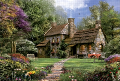 Educa Jigsaw Puzzles - Flint Cottage