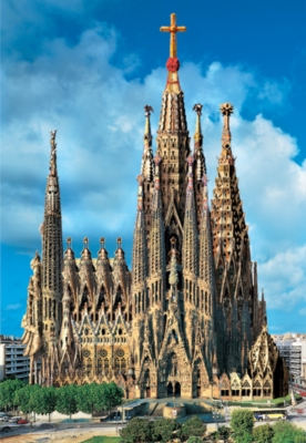 Sagrada Familia 2025 - 1000pc Jigsaw Puzzle By Educa