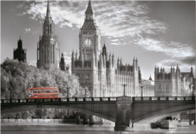 London Bus - 1000pc Jigsaw Puzzle By Educa