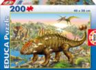 Dinosaurs - 200pc Jigsaw Puzzle For Kids By Educa