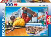 Skateboard - 100pc Jigsaw Puzzle By Educa