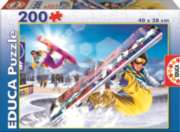 Snowboard - 200pc Jigsaw Puzzle By Educa