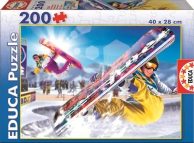 Educa Jigsaw Puzzles - Snowboard