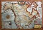 North America Map - 1000pc Jigsaw Puzzle By Educa