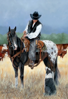 Horse Puzzles - Cowboy