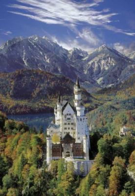 Neuschwanstein - 500pc Jigsaw Puzzle By Clementoni