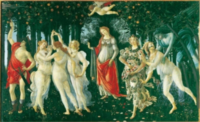 Allegory of Spring - 1000pc Jigsaw Puzzle By Clementoni