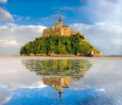 Mont Saint-Michel - 1500pc Jigsaw Puzzle By Clementoni
