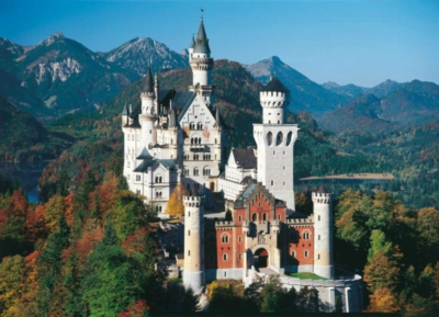 Neuschwanstein - 2000pc Jigsaw Puzzle By Clementoni