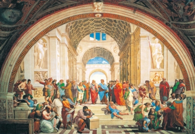 School of Athens - 3000pc Jigsaw Puzzle By Clementoni
