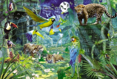 Aztec Forest - 4000pc Jigsaw Puzzle By Clementoni