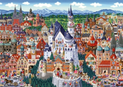 Germany - 1000pc Jigsaw Puzzle By Clementoni