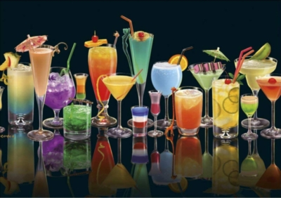 Cocktails - 1000pc Jigsaw Puzzle by Piatnik