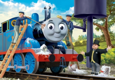 Jigsaw Puzzles for Kids - Thomas & Friends: Cleaning Thomas