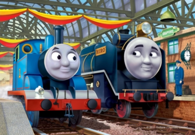 Jigsaw Puzzles for Kids - Thomas & Friends: Thomas & Hiro